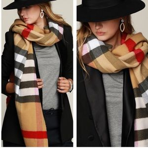 Accessories - Softest Plaid Oblong Scarf
